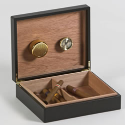 WB Brand Humidors and accessories.